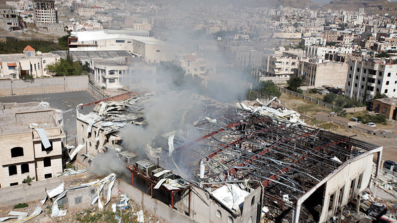 'Saudis hitting funeral in Yemen with US and UK munitions a PR disaster'