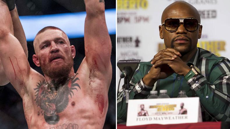 Conor McGregor: Mayweather 'afraid of fighting'