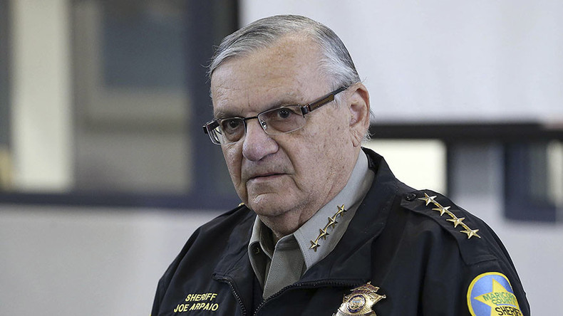 DOJ files charges against Sheriff Joe Arpaio
