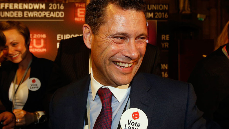 Steven Woolfe quits 'ungovernable & rotten' UKIP after EU parliament punch-up