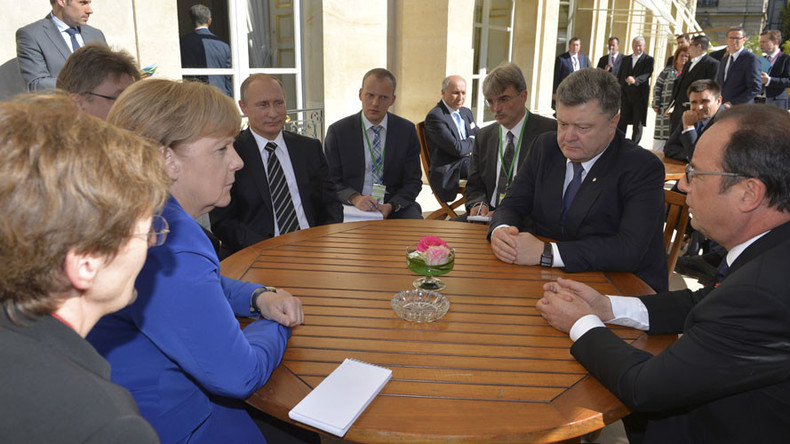Putin, Merkel, Hollande & Poroshenko to discuss Ukraine crisis at Berlin meeting