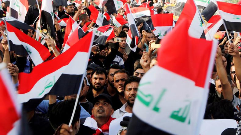 'Get out, Erdogan!' Huge demo in Baghdad protests Turkey's Iraq presence
