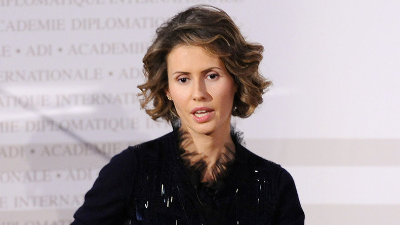 Asma Assad: 'It is the West dividing our children in this conflict'