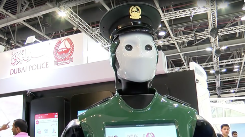 Real-life Robocop: Dubai to get android police force by 2017 (VIDEO)