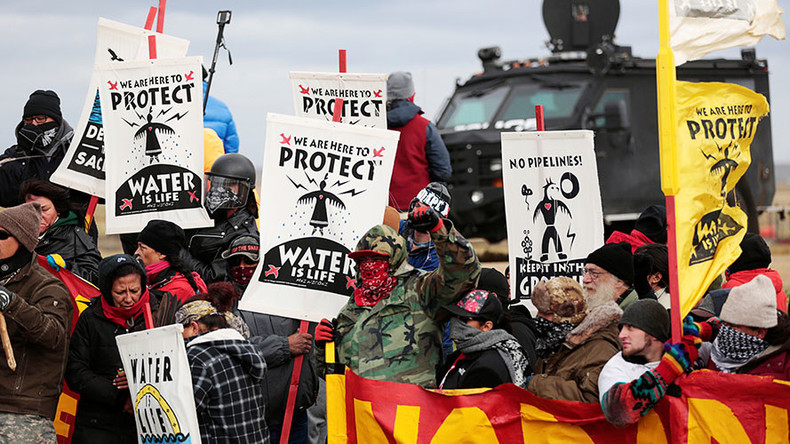 Tribe protesting Dakota pipeline approves its land to relocate illegal camp – report