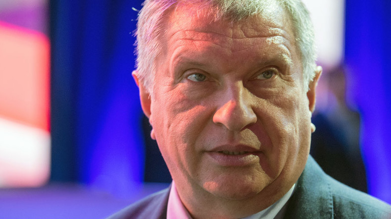 Rosneft boss Sechin says Russia could raise oil output