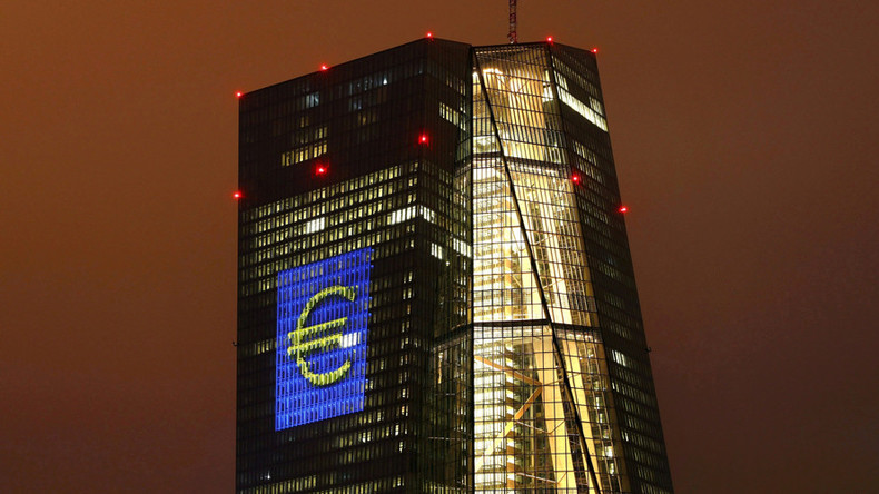 ECB leaves interest rates at record lows, hints at more stimulus