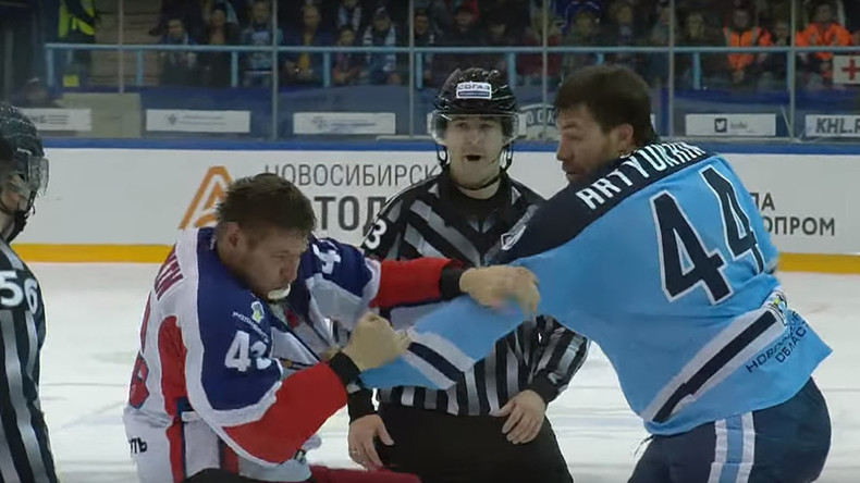 Valeri Nichushkin gets KO'd in his first KHL fight (VIDEO)
