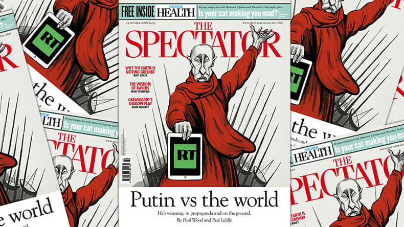 Putin & Russia 'hysteria' help to sell copies of Western media – Spectator editor to RT