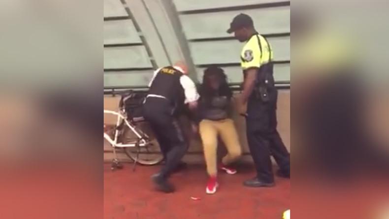 DC transit cop arrests, knocks down black teen over lollipop & chips [VIDEO]