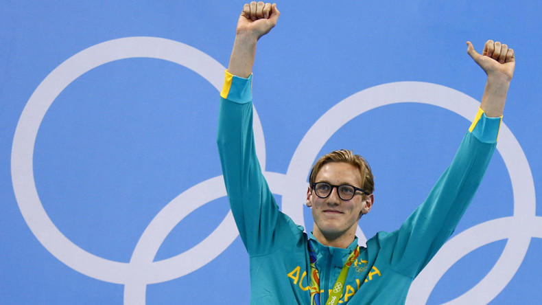 Olympic gold medal winning swimmer Mack Horton thanks fan who alerted him to cancer threat