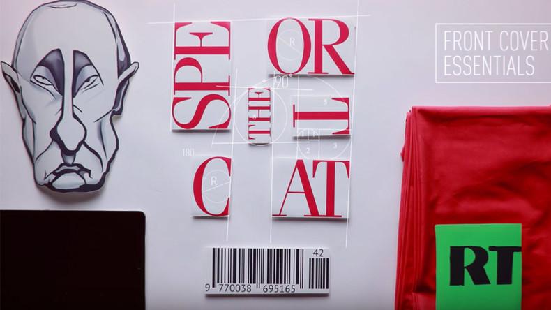 Putin, RT & Soviet kitsch: Recipe for perfect magazine cover