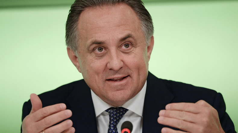 Vitaly Mutko: 'My work in preparation for the 2018 World Cup will not cease'