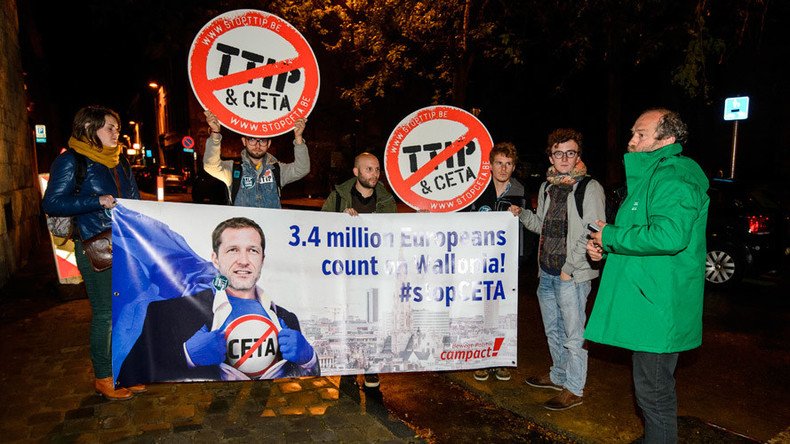 Belgium given Monday deadline as EU-Canada CETA trade deal hangs in balance