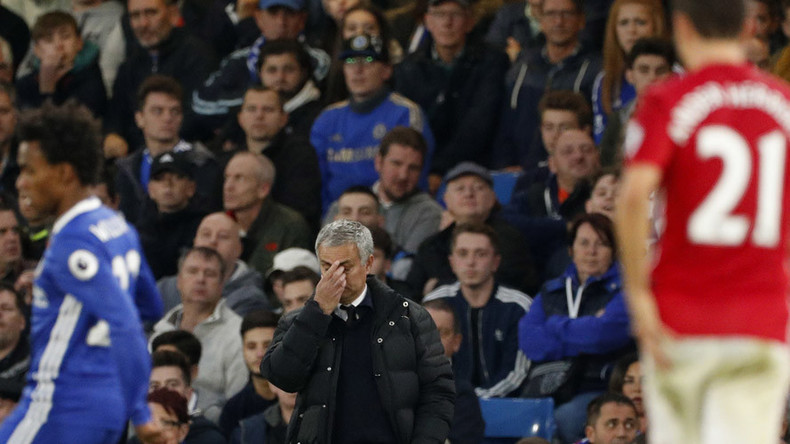Chelsea maul Man United on Mourinho's return to Stamford Bridge