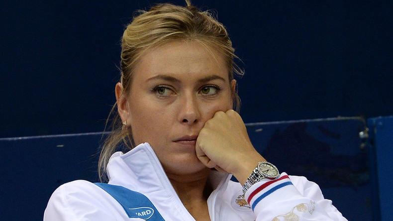 Sharapova dropped from women's tennis singles rankings
