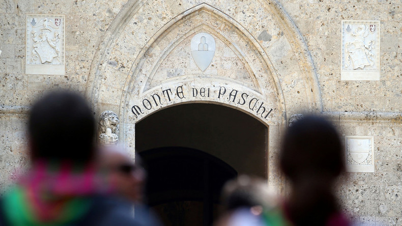 Monte dei Paschi trading suspended after 23% stock plunge
