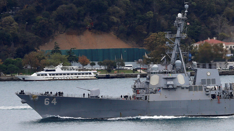 Aegis destroyer USS Carney enters Black Sea to replace US 6th Fleet flagship