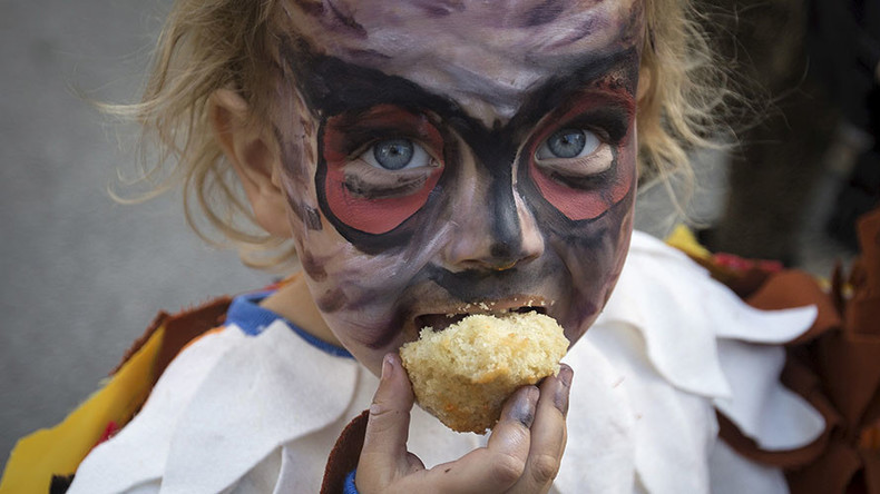 Toxic chemicals found in children's Halloween makeup – study