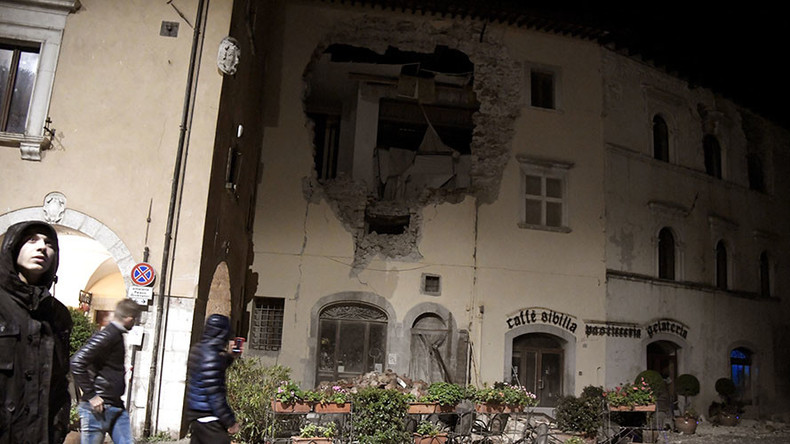Chilling images capture destruction as two earthquakes hit Italy (PHOTOS, VIDEOS)