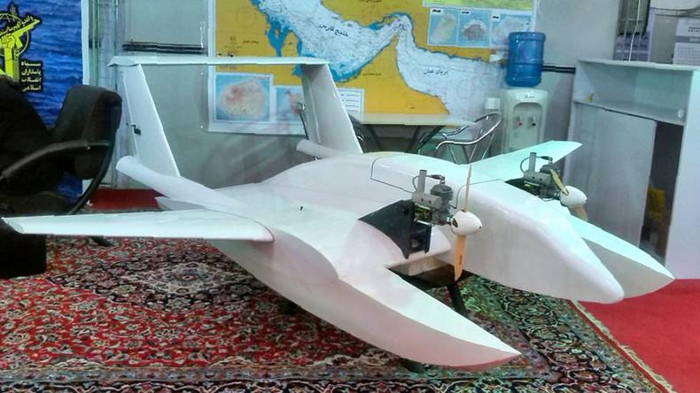 Suicide drone? Iran presents amphibious attack UAV