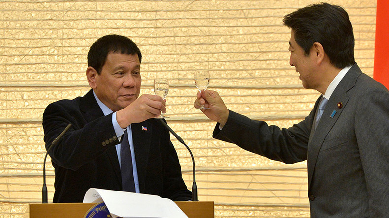 Philippines turns back on US and pivots to Asia