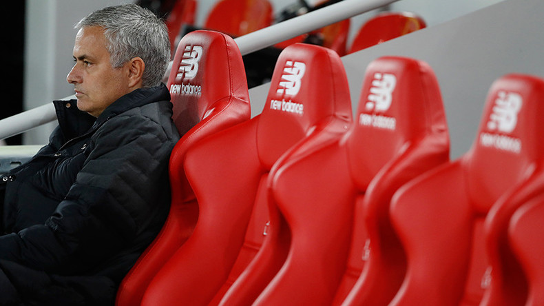 Mourinho charged over referee comments, adding to apparent misery of isolation in Manchester