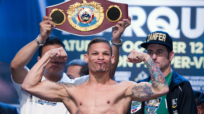 Orlando Cruz given chance to become 1st openly gay world boxing champion