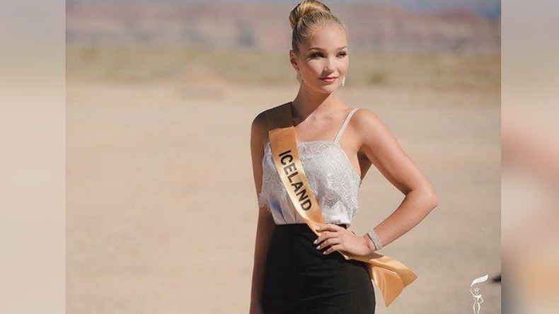 """Miss Iceland quits after being told she has """"too much fat"""""""