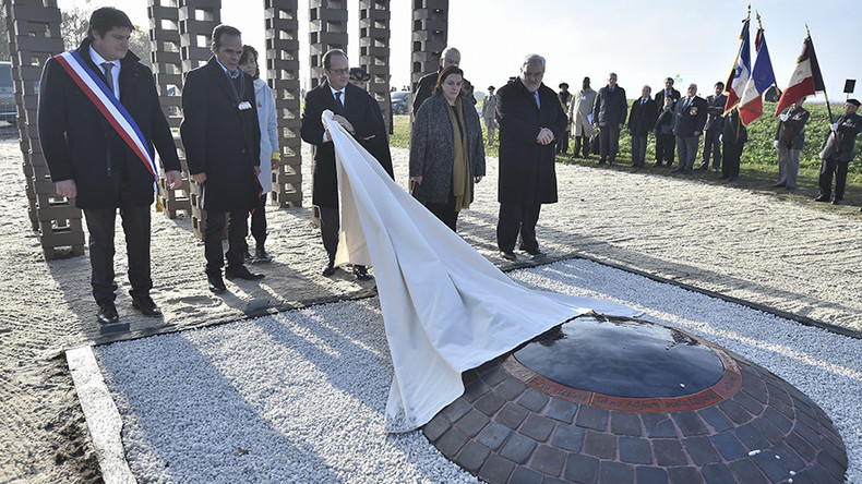 Hollande recognizes France's role in Nazi Roma persecution
