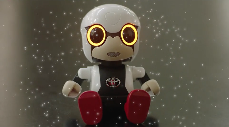 Toyota's robot baby to target Japan's lonely & childless  (VIDEO)