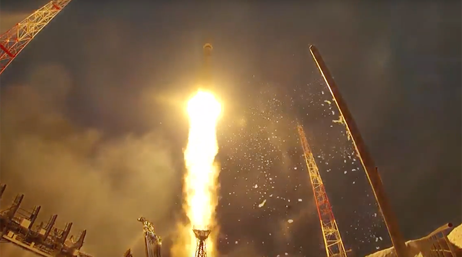 It takes a Russian to put military assets into space with flare (VIDEO)