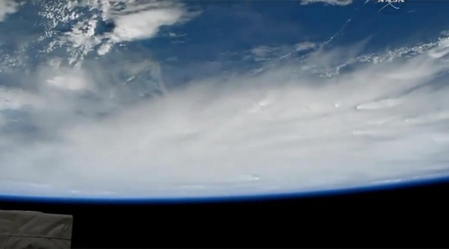 Hurricane Matthew's terrifying scale captured in amazing ISS video