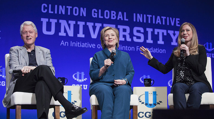 Clinton Foundation files three years of missing tax forms