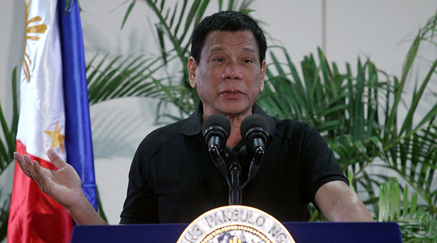 Duterte recalls drug addicts used to rape 'beautiful women,' now degraded to targeting toddlers