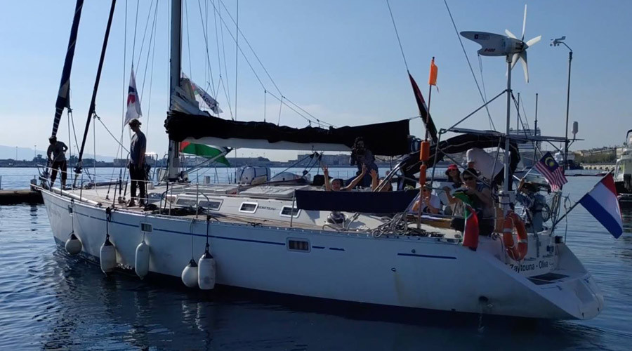 Israeli navy intercepts women's flotilla protesting Gaza blockade