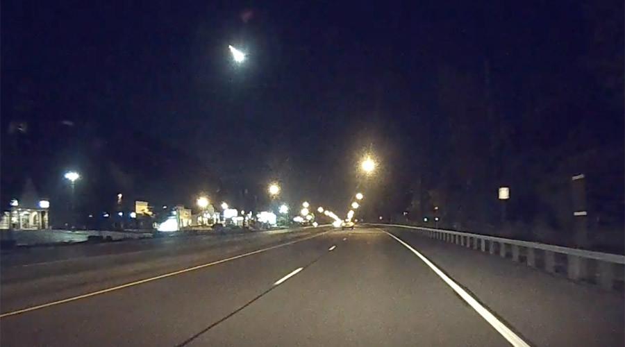 Loud fireball lights up the East Coast sky (PHOTOS, VIDEO)