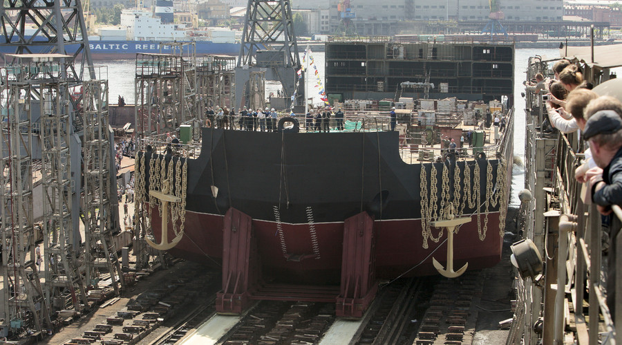 Russia starts work on Arctic dock for 1st-ever floating nuclear power plant