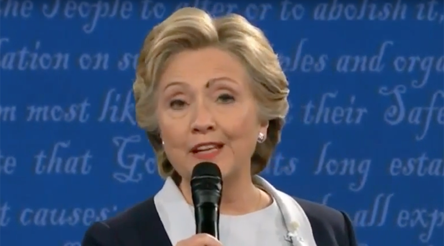 Internet brands Clinton a robot after she fails to swat fly on face (VIDEO)