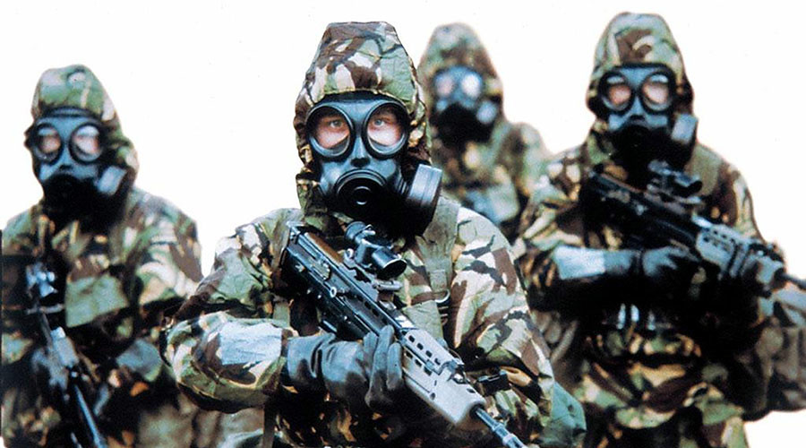 Are UK special forces preparing for chemical warfare ahead of assault on Mosul, Iraq?