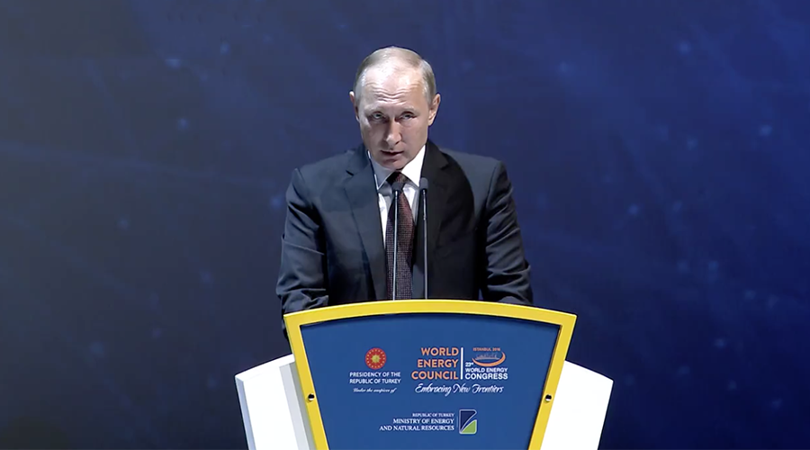 Oil prices surge as Putin says Russia ready to support OPEC production freeze or even cut