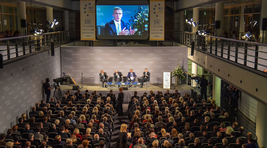 NATO bets on 'strong defense, deterrence & dialogue' with Russia – Stoltenberg