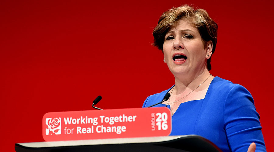 Shadow Foreign Sec Thornberry condemns hypocrisy of govt figures pushing for Syria intervention
