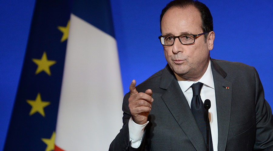France's Hollande blasts US for going after corporate Europe