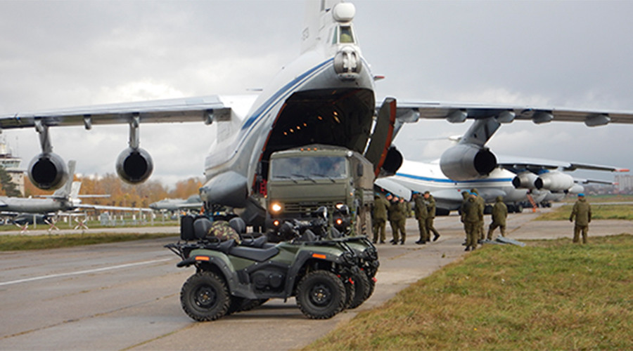 Russian paratroopers depart to Egypt for first joint military drills in Africa