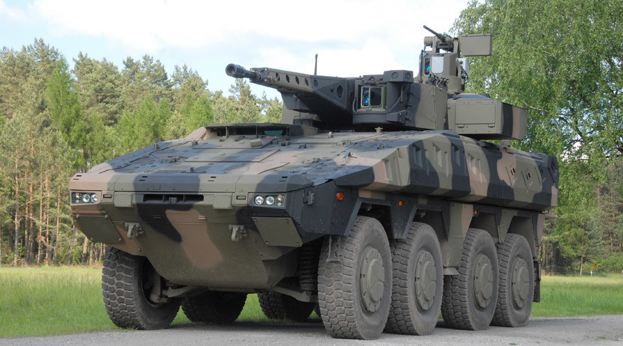 MoD to buy £3bn armored vehicle fleet from Germany – report