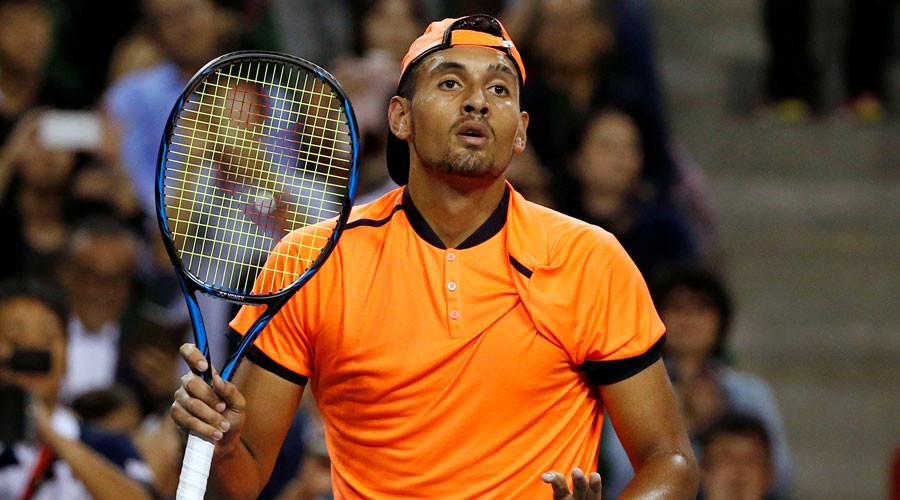 ATP suspends Nick Kyrgios over Shanghai behavior