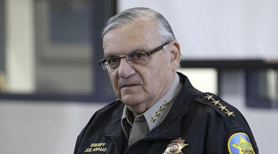 DOJ files charges against Sheriff Joe Arpaio