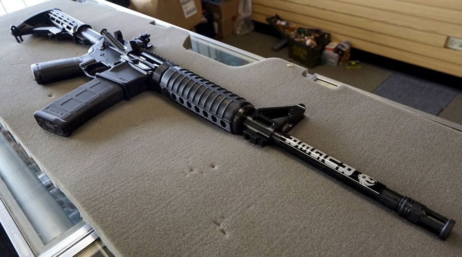 Get your rifle before it's too late! Las Vegas gun store advertises 'Pre-Hillary Sale'