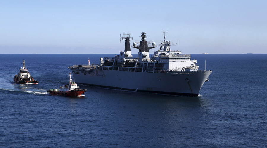 Royal Navy pledges to 'man-mark' passing Russian fleet